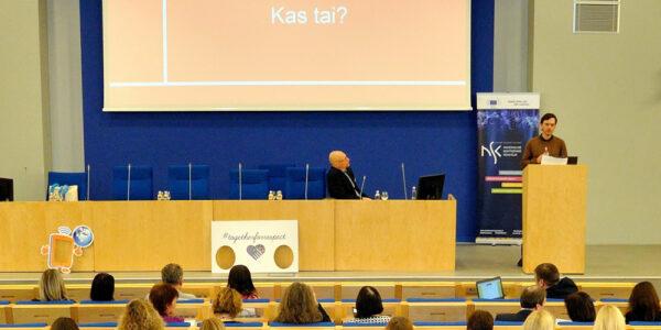 Saugesnio interneto ambasadorių svarbi veiklos kryptis – ugdyti gebėjimą susiorientuoti šiuolaikinių medijų pasaulyje