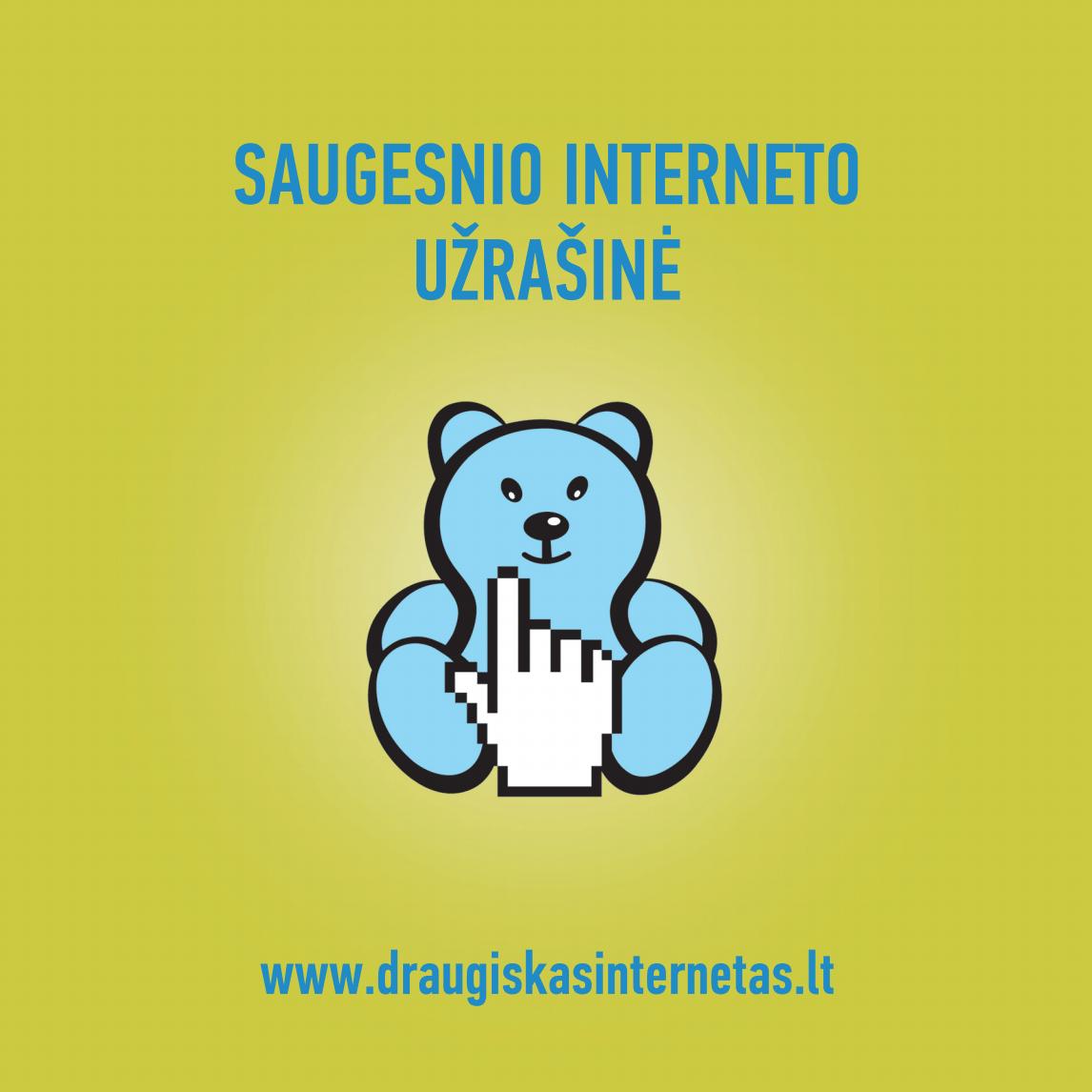 Saugesnio interneto užrašinė
