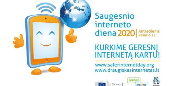 Saugesnio interneto diena jau čia pat!