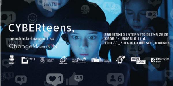 KVIEČIAME į Saugesnio interneto dienos renginį vasario 11 dieną