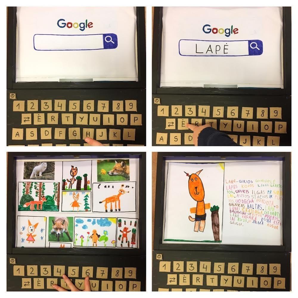 """Panevėžio lopšelyje–darželyje """"Voveraitė"""" smagiai paminėta saugesnio interneto diena"""