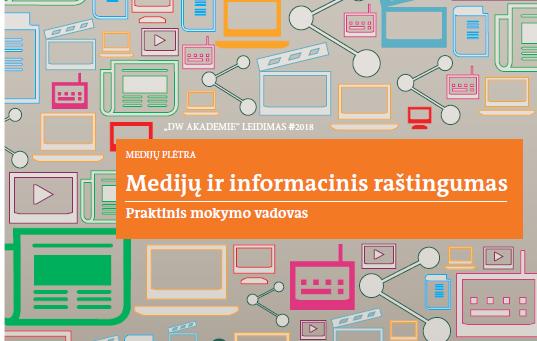 """Kviečiame dalyvauti renginyje Praktinio mokymo vadovo """"Medijų ir informacinis raštingumas"""" pristatymas"""
