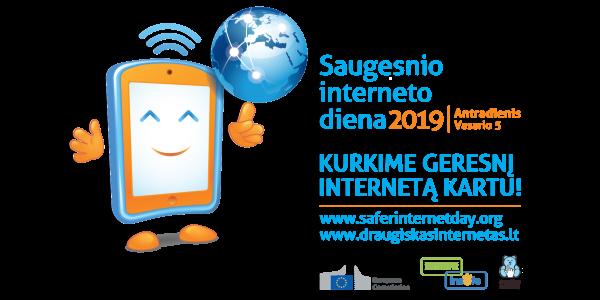 Tarptautinės Saugesnio interneto dienos 2019 konkursai!
