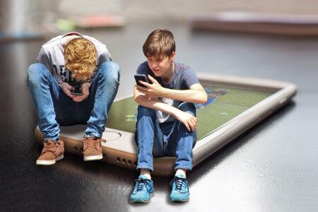 Vaikai internete suaugusiųjų priežiūros nenori