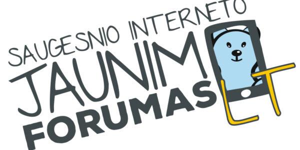 Kviečiame žiūrėti Saugesnio interneto Jaunimo forumo narių video medžiagą